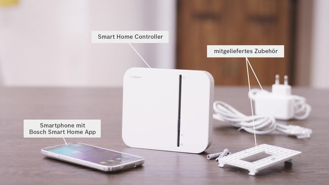 Bosch Smart Home Controller - Montage Video 3