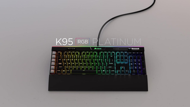Corsair - K95 RGB Platinum Gaming Tastatur Video 3