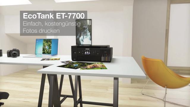 Epson - EcoTank ET-7700 Video 7
