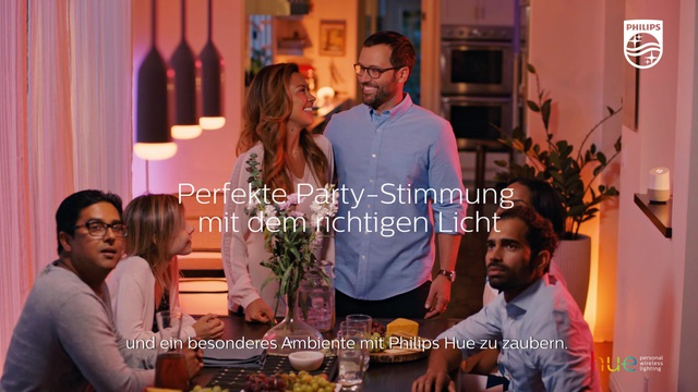 Philips - Hue - Dinner Party Video 12