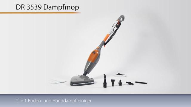 Clatronic - DR 3539 Dampfmop Video 3