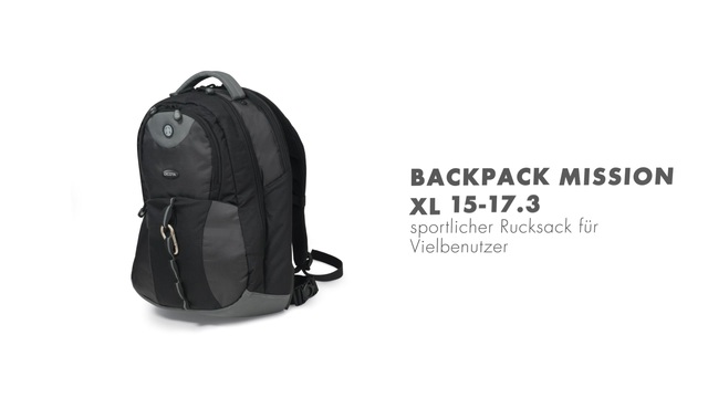 Dicota - Backpack Mission XL 15-17.3 Video 2