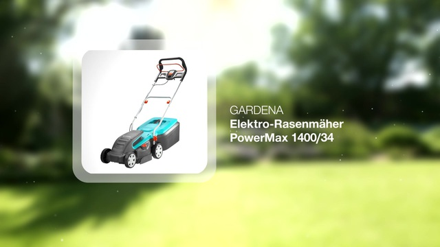 Electric Lawnmower PowerMax 1400/34 Video 3