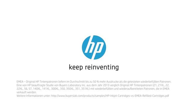 HP - Tinte neu erfinden mit Rob & Thom - Magie Video 3