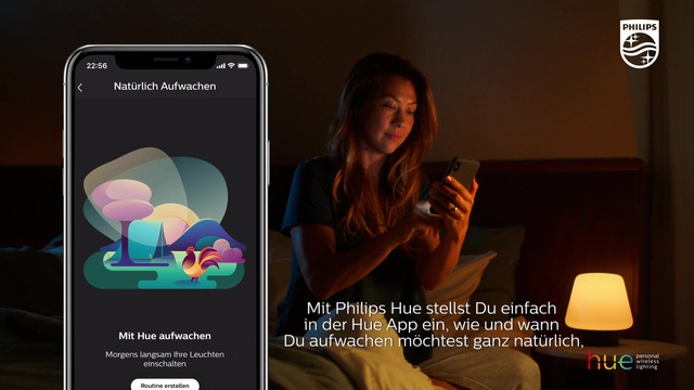Philips - Hue - Wake Up Video 15