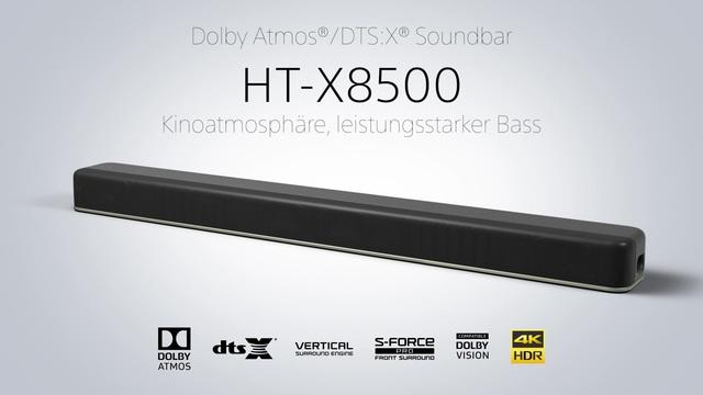 Sony - HT-X8500 Soundbar Video 3