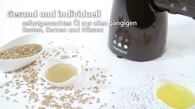 Rommelsbacher - Ölpresse OP 700 Video 3